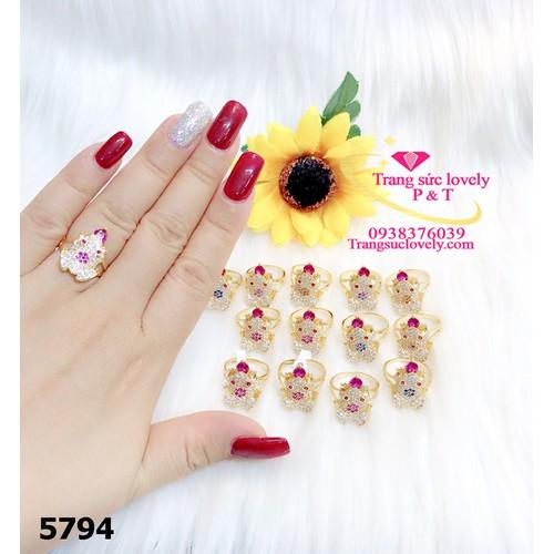 Nhẫn nữ cao cấp jewels 5794