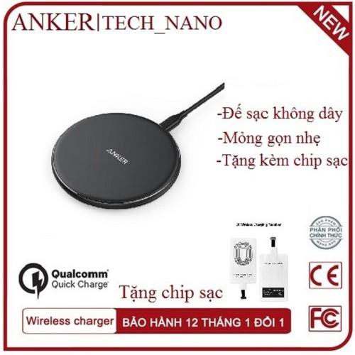 [SIÊU SALE] Đế sạc không dây Anker A2518 chuẩn Qi Tặng 1 bộ chip sạc không dây - 4793377 , 17079313 , 15_17079313 , 350000 , SIEU-SALE-De-sac-khong-day-Anker-A2518-chuan-Qi-Tang-1-bo-chip-sac-khong-day-15_17079313 , sendo.vn , [SIÊU SALE] Đế sạc không dây Anker A2518 chuẩn Qi Tặng 1 bộ chip sạc không dây