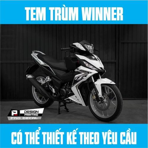 Tem Trùm Winner Gtr Trắng Đen - 11139006 , 17077181 , 15_17077181 , 350000 , Tem-Trum-Winner-Gtr-Trang-Den-15_17077181 , sendo.vn , Tem Trùm Winner Gtr Trắng Đen