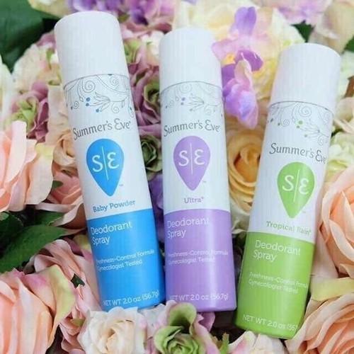 Dung Dịch Vệ Sinh Dạng Xịt Summer's Eve Deodorant Spray