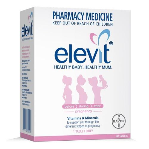 Viên uống Elevit dành cho bà bầu loại 100 viên của Úc Bayer Australia - 7257161 , 17091003 , 15_17091003 , 1200000 , Vien-uong-Elevit-danh-cho-ba-bau-loai-100-vien-cua-Uc-Bayer-Australia-15_17091003 , sendo.vn , Viên uống Elevit dành cho bà bầu loại 100 viên của Úc Bayer Australia