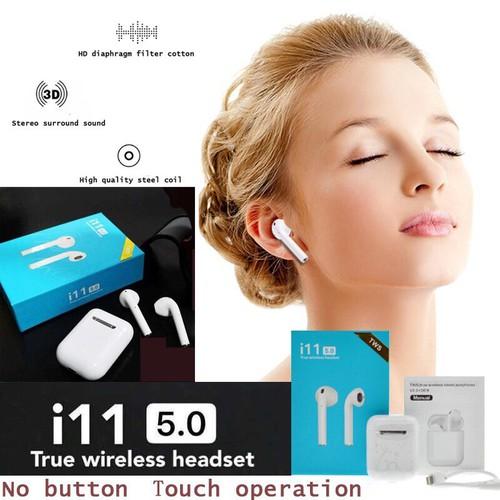 Tai Nghe Bluetooth i11 cao cấp - 7251493 , 17087755 , 15_17087755 , 400000 , Tai-Nghe-Bluetooth-i11-cao-cap-15_17087755 , sendo.vn , Tai Nghe Bluetooth i11 cao cấp