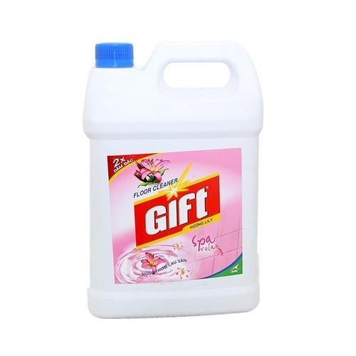 Nước lau sàn Gift 4KG HƯƠNG HOA LYLY