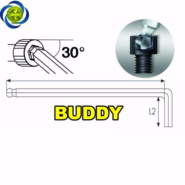 Lục giác đầu bi 5.0mm Buddy A0030 3