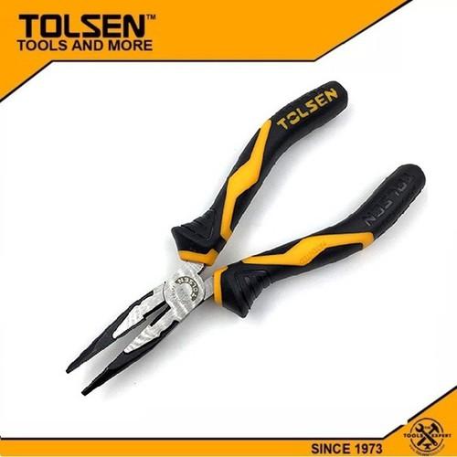 Kìm Răng Mũi Nhọn Công Nghiệp 8 inch_200mm Tolsen 10022