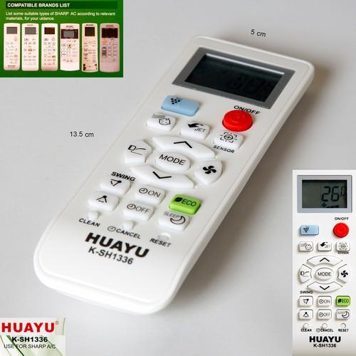 Remote máy lạnh Sharp đa năng Huayu K SH1336 - 7227687 , 17074706 , 15_17074706 , 90000 , Remote-may-lanh-Sharp-da-nang-Huayu-K-SH1336-15_17074706 , sendo.vn , Remote máy lạnh Sharp đa năng Huayu K SH1336