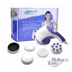 Máy Massage Bụng Relax Tone -𝑭𝒓𝒆𝒆𝑺𝒉𝒊𝒑- Máy massage toàn thân Giảm Nhức Mỏi,Thư Giản Và Tan Mỡ