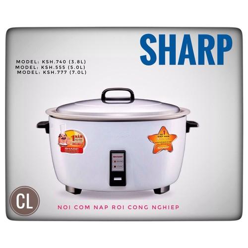 Nồi cơm điện Sharp KSH-777V 7 lít - 7255053 , 17089884 , 15_17089884 , 2250000 , Noi-com-dien-Sharp-KSH-777V-7-lit-15_17089884 , sendo.vn , Nồi cơm điện Sharp KSH-777V 7 lít