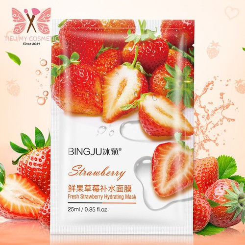 Mặt nạ dưỡng da BINGJU Fresh Strawberry Hydrating Mask 25ml - Dâu - 7226472 , 17074078 , 15_17074078 , 15000 , Mat-na-duong-da-BINGJU-Fresh-Strawberry-Hydrating-Mask-25ml-Dau-15_17074078 , sendo.vn , Mặt nạ dưỡng da BINGJU Fresh Strawberry Hydrating Mask 25ml - Dâu