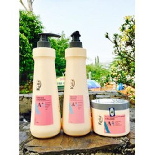 Bộ 3 sản phẩm chăm sóc tóc gội, xả, hấp dầu, KELLA A+ 750ml