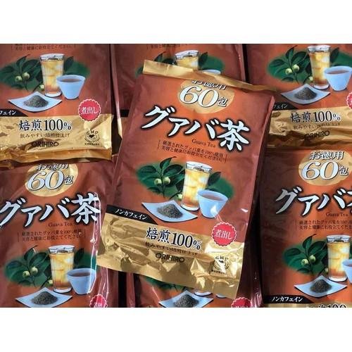 Trà ổi  giảm cân Orihiro Guava 60gói x 2g
