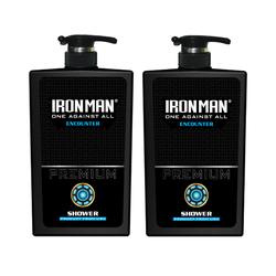 Combo 2 chai sữa tắm hương nước hoa Ironman Encounter 650g