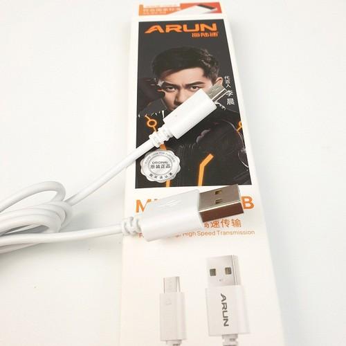 Dây cáp sạc điện thoại Micro USB ARun dài 1 mét dành cho android chính hãng - 7246373 , 17084957 , 15_17084957 , 18000 , Day-cap-sac-dien-thoai-Micro-USB-ARun-dai-1-met-danh-cho-android-chinh-hang-15_17084957 , sendo.vn , Dây cáp sạc điện thoại Micro USB ARun dài 1 mét dành cho android chính hãng