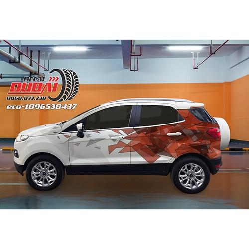 Tem Dán Sườn Xe Ecosport - 7232752 , 17077140 , 15_17077140 , 1500000 , Tem-Dan-Suon-Xe-Ecosport-15_17077140 , sendo.vn , Tem Dán Sườn Xe Ecosport