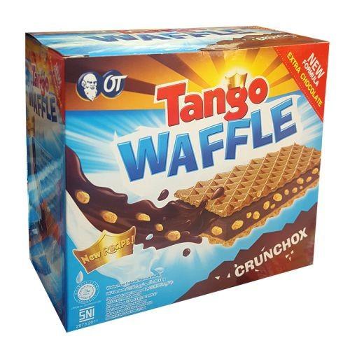 Bánh xốp socola Tango Waffle Crunchox hộp 20 cái x 8g