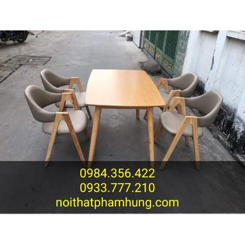 bàn ghế gỗ quán ăn - 7226451 , 17074057 , 15_17074057 , 3180000 , ban-ghe-go-quan-an-15_17074057 , sendo.vn , bàn ghế gỗ quán ăn
