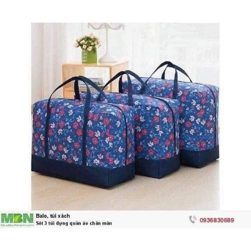 Set 3 túi đựng chăn màn