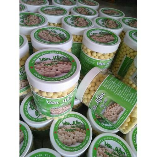 Viên mầm đậu nành nguyên sơ