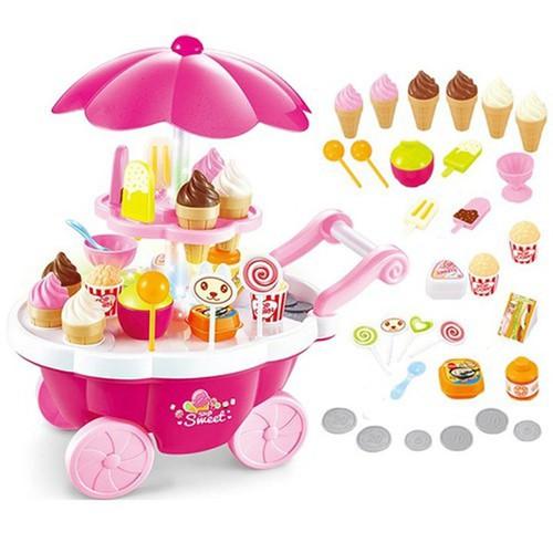 Bộ đồ chơi xe đẩy bánh kem có đèn,nhạc cho bé - 7267072 , 17096058 , 15_17096058 , 198000 , Bo-do-choi-xe-day-banh-kem-co-dennhac-cho-be-15_17096058 , sendo.vn , Bộ đồ chơi xe đẩy bánh kem có đèn,nhạc cho bé