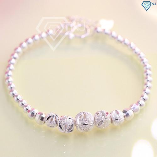 Lắc tay bạc nữ sang trọng với thiết kế bi bạc tinh tế LTN0096 - Trang Sức TNJ - 7282738 , 17103472 , 15_17103472 , 430000 , Lac-tay-bac-nu-sang-trong-voi-thiet-ke-bi-bac-tinh-te-LTN0096-Trang-Suc-TNJ-15_17103472 , sendo.vn , Lắc tay bạc nữ sang trọng với thiết kế bi bạc tinh tế LTN0096 - Trang Sức TNJ
