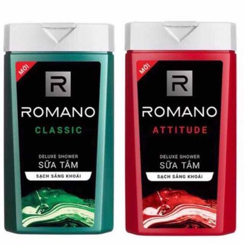 Sữa tắm Romano Classic 150g