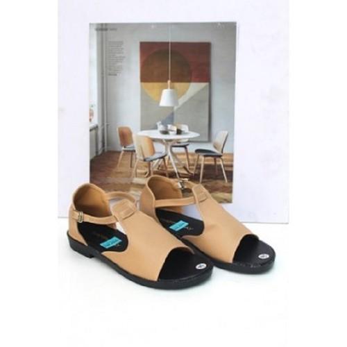 Giày sandal nữ đế bệt thời trang 44|Bảo hành keo