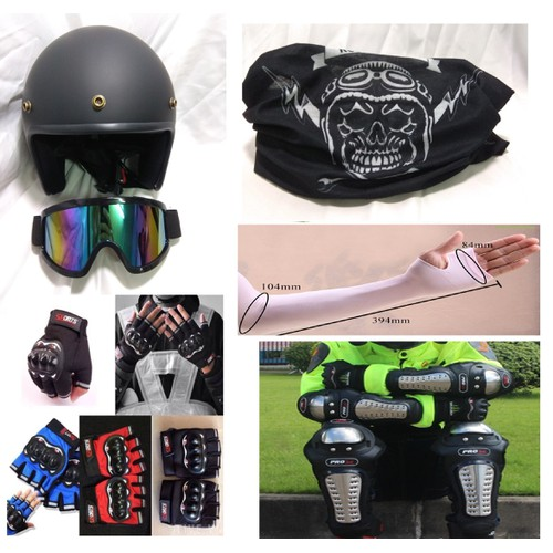 Nón bảo hiểm Dammtrax Black + Kính chống tia nắng UV, che nắng, giảm tốc loại tốt