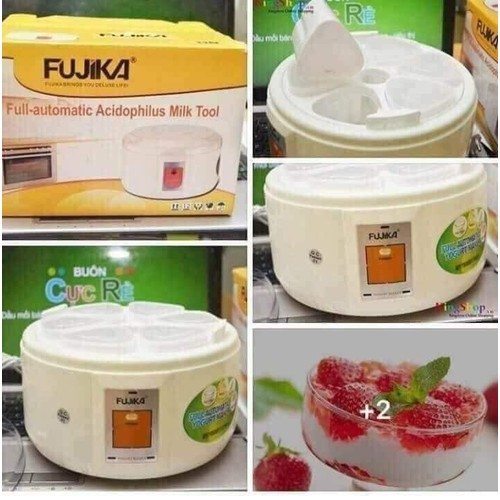 Máy ủ sữa chua Fujika 6 cốc - 7284727 , 17104354 , 15_17104354 , 170000 , May-u-sua-chua-Fujika-6-coc-15_17104354 , sendo.vn , Máy ủ sữa chua Fujika 6 cốc