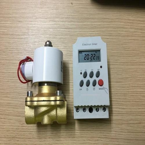 Bộ tưới cây tự động combo gồm Van điện từ pi 21+ hẹn giờ KG316T - 7270730 , 17097973 , 15_17097973 , 400000 , Bo-tuoi-cay-tu-dong-combo-gom-Van-dien-tu-pi-21-hen-gio-KG316T-15_17097973 , sendo.vn , Bộ tưới cây tự động combo gồm Van điện từ pi 21+ hẹn giờ KG316T