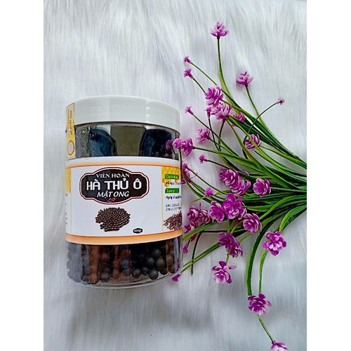 1 Hộp Viên Hà Thủ Ô mật ong 500 gam