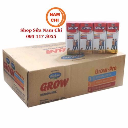 Thùng 48 Hộp Dielac Grow Vinamilk 180ml Date 06-2019