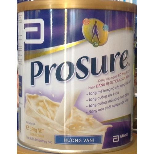 Sữa Prosure dành cho bện nhân ung thư