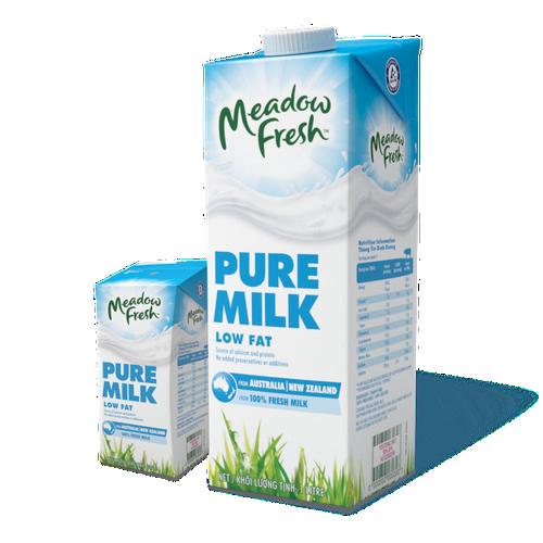Sữa tươi tiệt trùng ít béo Meadow Fresh hộp 1L - 7268452 , 17096897 , 15_17096897 , 46900 , Sua-tuoi-tiet-trung-it-beo-Meadow-Fresh-hop-1L-15_17096897 , sendo.vn , Sữa tươi tiệt trùng ít béo Meadow Fresh hộp 1L