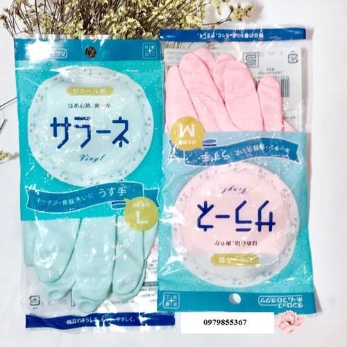 Com bo 5 găng tay rửa bát cao cấp size L Nhật bản chính hãng