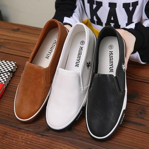 Giày lười, giày mọi da nam Giày Nam S1 giá rẻ nhất