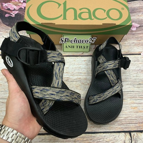 Giày Xăng đan Chaco nam họa tiết chaco27