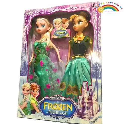 Đồ Chơi Trẻ Em Công chúa Elsa và Anna [ĐỒ CHƠI TRÍ TUỆ]