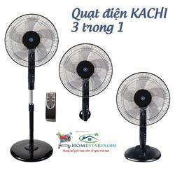 Quạt điện đa năng có remote Kachi MK-143