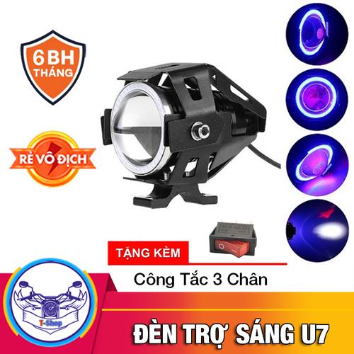 Đèn Trợ Sáng Xe Máy U7 có lồng sắt cho xe máy và xe đạp điện - 7281699 , 17102822 , 15_17102822 , 200000 , Den-Tro-Sang-Xe-May-U7-co-long-sat-cho-xe-may-va-xe-dap-dien-15_17102822 , sendo.vn , Đèn Trợ Sáng Xe Máy U7 có lồng sắt cho xe máy và xe đạp điện