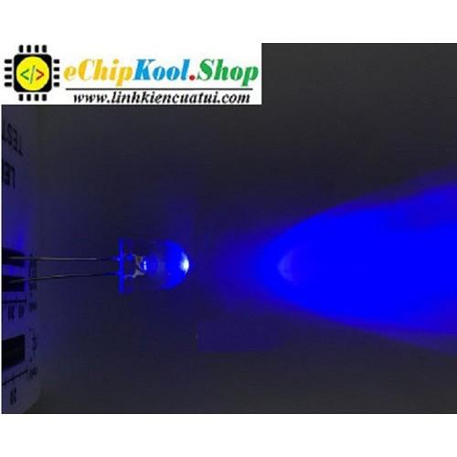 Đèn led siêu sáng 10mm - Led màu Xanh dương trong