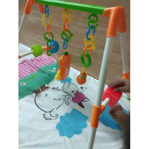 Bộ đồ chơi giá đỡ treo cho em bé tập nhận biết màu sắc chơi đùa nâng cao trí thông minh - 4798267 , 17094150 , 15_17094150 , 217000 , Bo-do-choi-gia-do-treo-cho-em-be-tap-nhan-biet-mau-sac-choi-dua-nang-cao-tri-thong-minh-15_17094150 , sendo.vn , Bộ đồ chơi giá đỡ treo cho em bé tập nhận biết màu sắc chơi đùa nâng cao trí thông minh