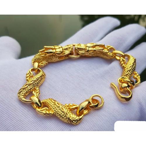 Vòng tay Rồng Vàng cao cấp - 7292220 , 17107743 , 15_17107743 , 598000 , Vong-tay-Rong-Vang-cao-cap-15_17107743 , sendo.vn , Vòng tay Rồng Vàng cao cấp