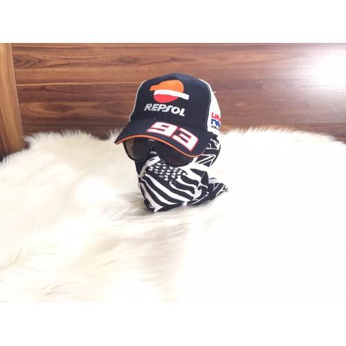 Nón kết Team Honda Repsol 93 MotoGP đằng cấp tốc độ VNXK