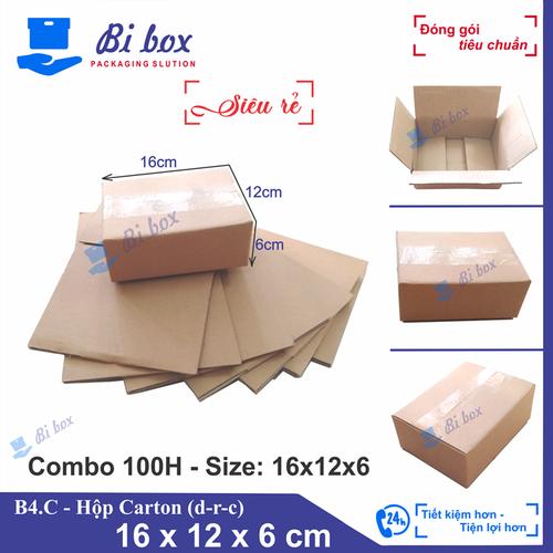 Combo 100 thùng carton 16x12x6 - thùng carton giá rẻ - 7289799 , 17106572 , 15_17106572 , 206000 , Combo-100-thung-carton-16x12x6-thung-carton-gia-re-15_17106572 , sendo.vn , Combo 100 thùng carton 16x12x6 - thùng carton giá rẻ