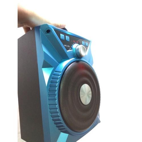 Loa karaoke không dây bluetooth + 1 Micro có dây