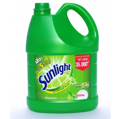 Nước rửa chén Sunlight trà xanh 3,8kg chai - 4715467 , 16446178 , 15_16446178 , 100300 , Nuoc-rua-chen-Sunlight-tra-xanh-38kg-chai-15_16446178 , sendo.vn , Nước rửa chén Sunlight trà xanh 3,8kg chai