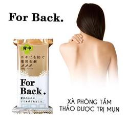 Xà Phòng Mụn Lưng For Back Medicated Soap - Chính Hãng Nhật Bản