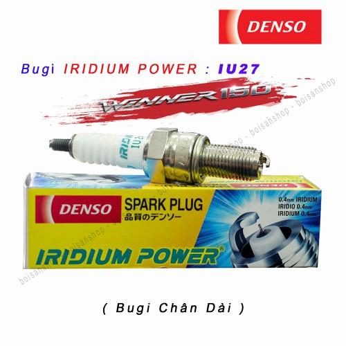Bugi DENSO IRIDIUM POWER IU27  : Winner 150 - Exciter 150 - Sonic - CB