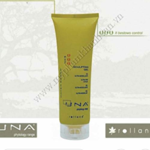 Gel vuốt tóc UNA Sculpting 250ml gel cứngvuốt tóc tạo kiểu phồng