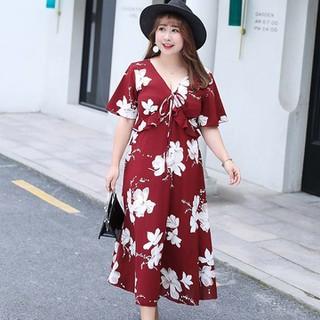 Đầm Bigsize cao cấp dành cho người mập từ 55-90Kg - V57 4